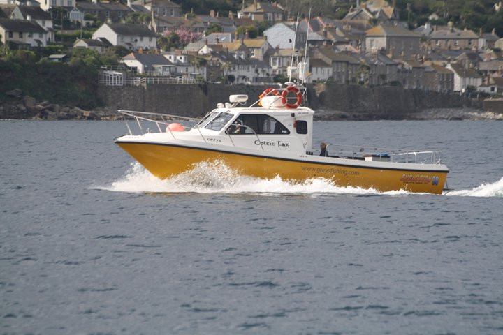 Celtic Fox - Penzance boat fishing